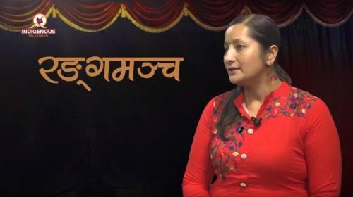 Manju Giri On Ranga Mancha With Praveen Puma epi -