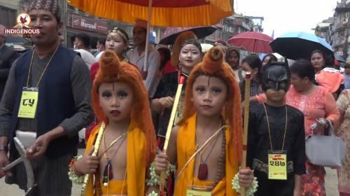 काठमाडौको सांस्कृतिक गाइजात्रा र बौद्धको रोपाई जात