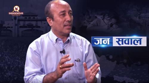 Pratap Man Shakya on Janasawal Epi - 144