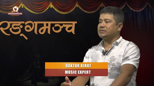 Daktar Kirati (Music Expert) On Ranga Mancha With