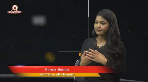 Nirmala Shrestha (Staff Nurse, Alka Hospital) On H