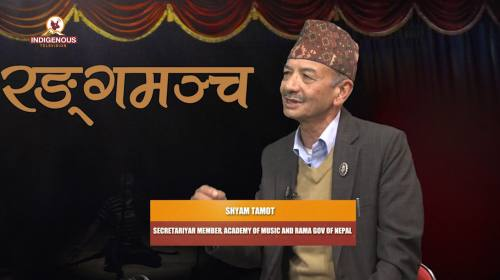 Shyam Tamot (Secretariyar member academy of Music