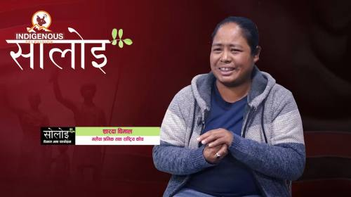 Sharda Dhimal On Soloi with Manju Dhimal Episode