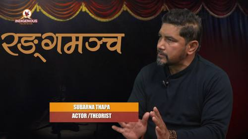 Subarna Thapa (Actor theorist) On Ranga Mancha Epi