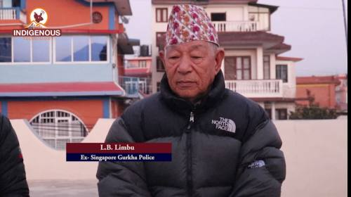 L. B Limbu (EX- Singapore gurkha Police) On Paltan