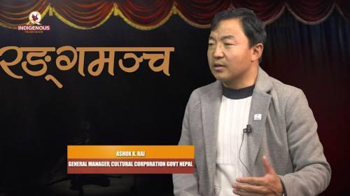 Ashok K. Rai On Ranga Mancha with Praveen Puma Epi