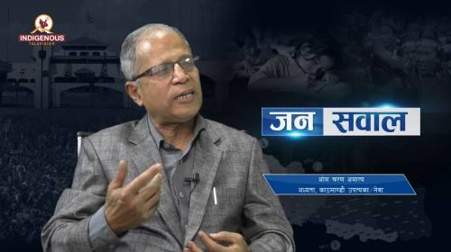 Om Charan  Amatya  On Janasawal Epi - 272
