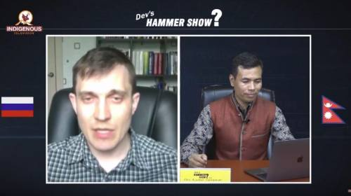 Alexey Tsykarev On Hammer show with Dev Kumar Sunu