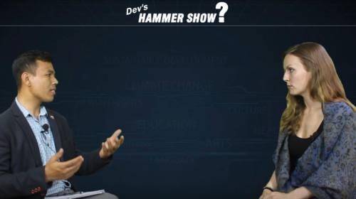 Angelica Rao On Hammer show with Dev Kumar Sunuwar