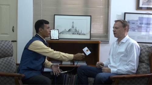 Christian Manhart On Hammer show with Dev Kumar Su