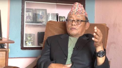 (Ex Lt.) Bhim Tawa Limbu on Paltan Ko Katha with S