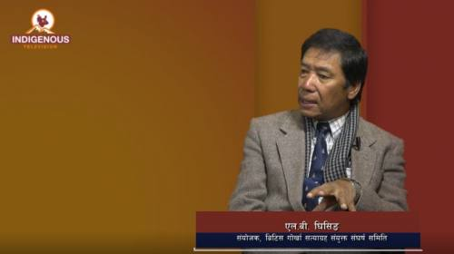 L B Ghising On Indigenous Talk with Jagat Dong Epi
