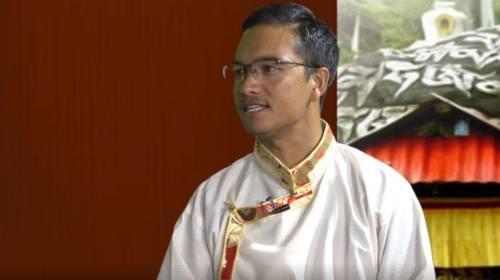 Laxman Adhikari On Serwi Ngyanthin with Sonam Yang