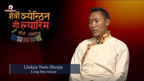 Lhakpa Nuru Sherpa (Long line rescue) On Serwi Ngy