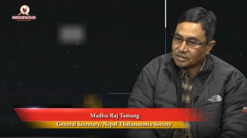Mudhu Raj Tamang (General Secretary,Nepal Thalassa