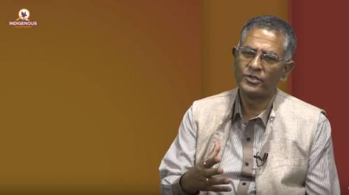 Naresh Tamrakar On Indigenous Talk with Jagat Dong