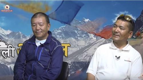 Pema Tharki Sherpa,Nima Gombu Sherpa&Pasang Tenzin