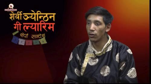 Pemba Gyalje Sherpa (Climber) On Serwi Ngyanthin w