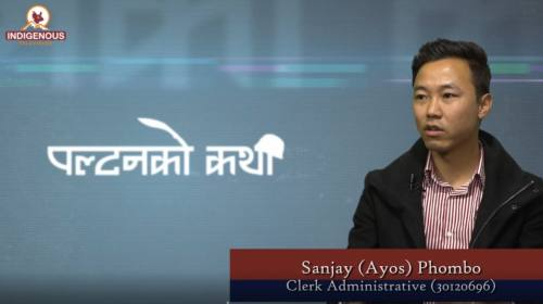 Sanjay Ayos Phombo On Paltan ko Katha With Sampada