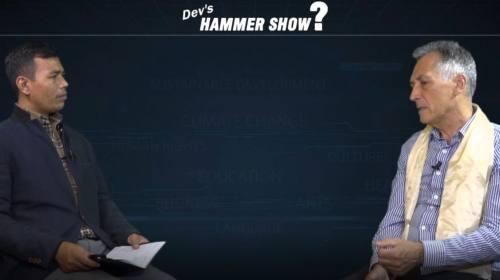 Winfred Oman On Hammer show with Dev Kumar Sunuwar